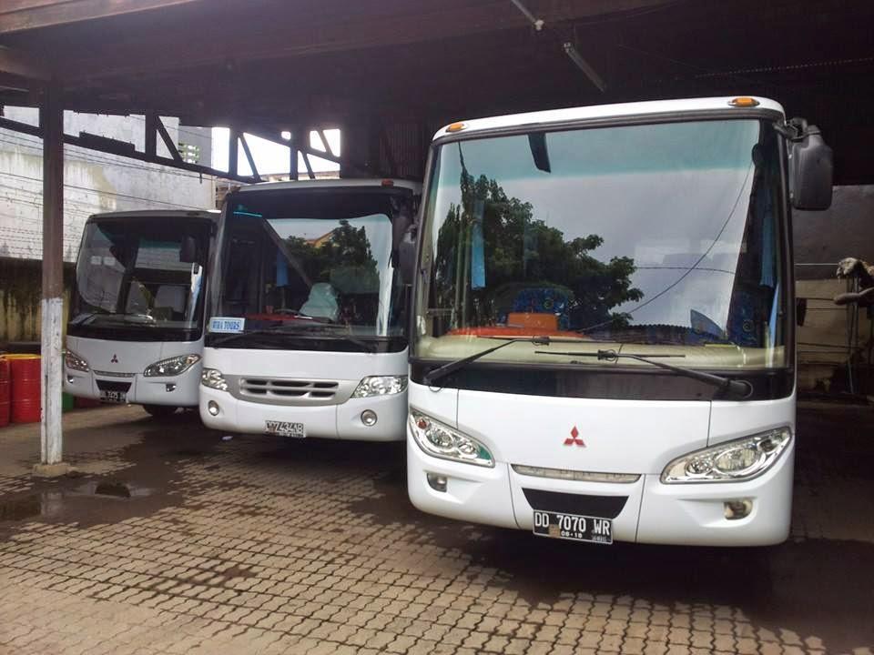 Rental Bus Pariwisata di Makassar