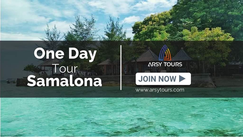 Paket Tour Pulau Samalona 1 Hari