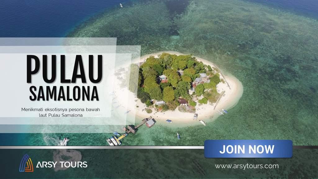 Paket Tour Pulau Samalona Makassar 3 Hari 2 Malam