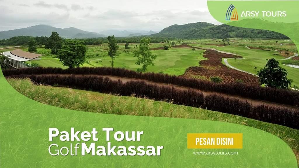 Paket Tour Golf Makassar 2 Hari 1 Malam