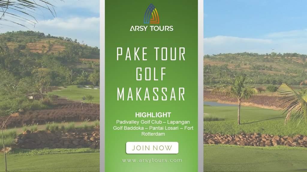 Paket Tour Golf Makassar 4 Hari 3 Malam