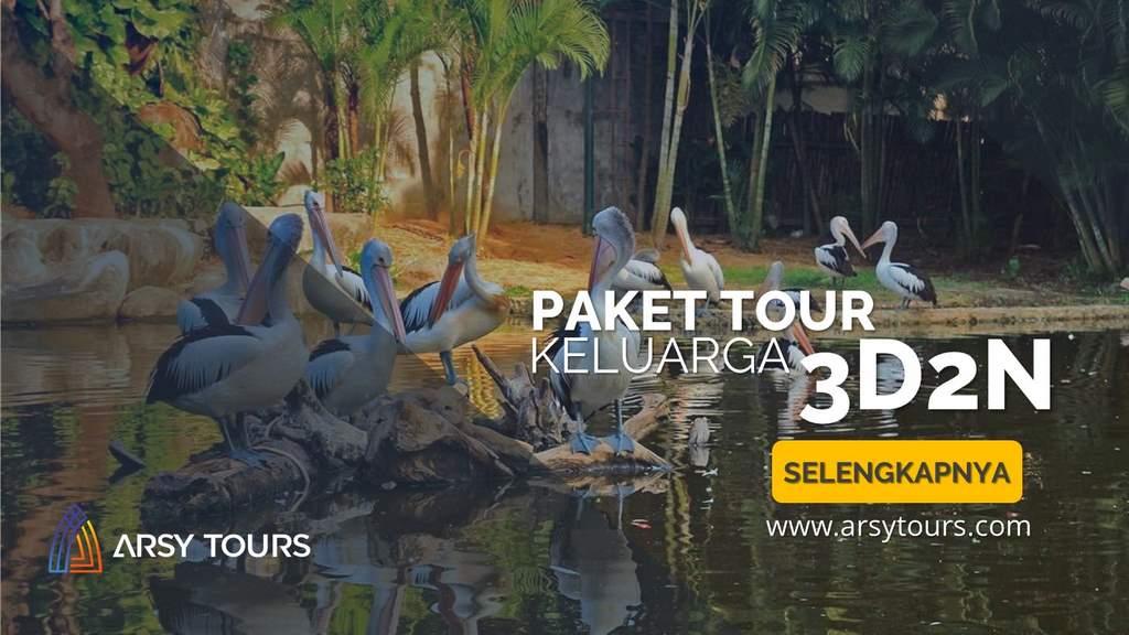 Paket Tour Keluarga Makassar 3 Hari 2 Malam - Paket 2