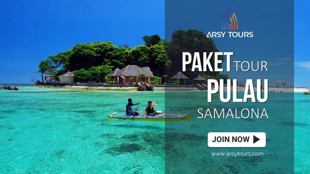 Paket Tour Pulau Samalona Makassar 2 Hari 1 Malam