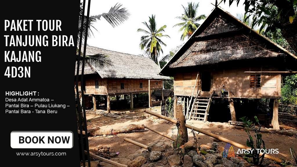 Paket Tour Tanjung Bira - Kajang 4 Hari 3 Malam