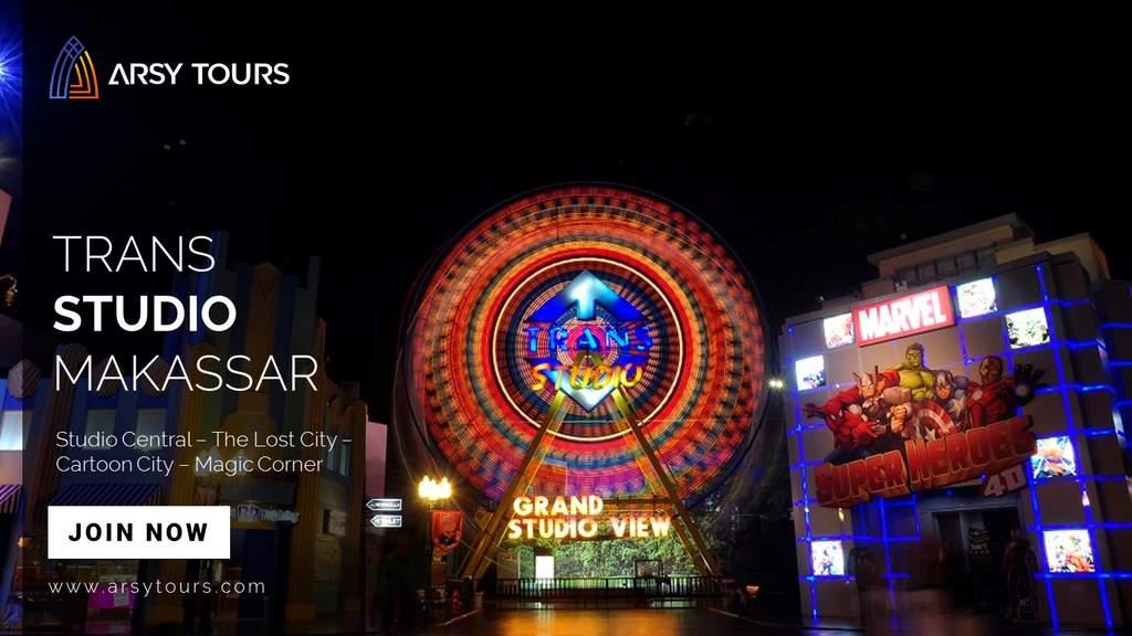 Paket Tour Trans Studio Makassar 2 Hari 1 Malam
