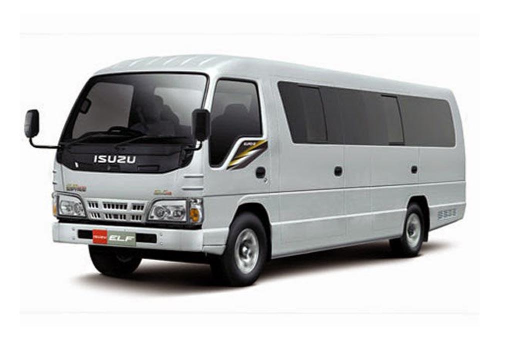 Rental mobil ELF Long di Makassar