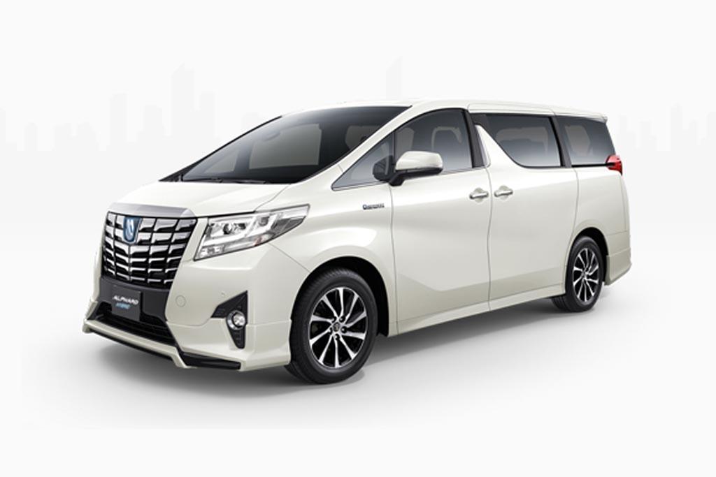 Rental Toyota Alphard di Makassar